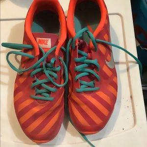Nike Pink & Orange Training Shoes